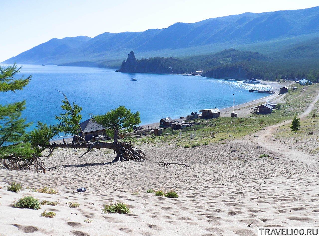 бухта Песчаная на Байкале