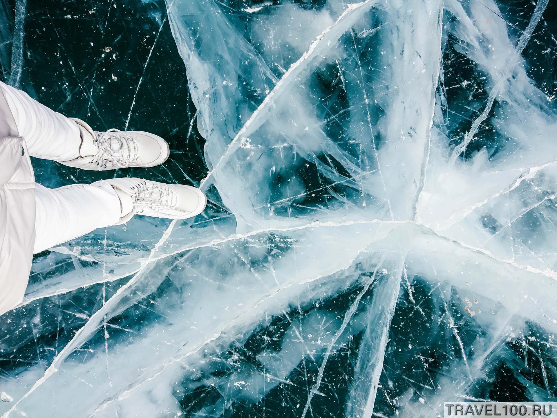 фото байкальский лед