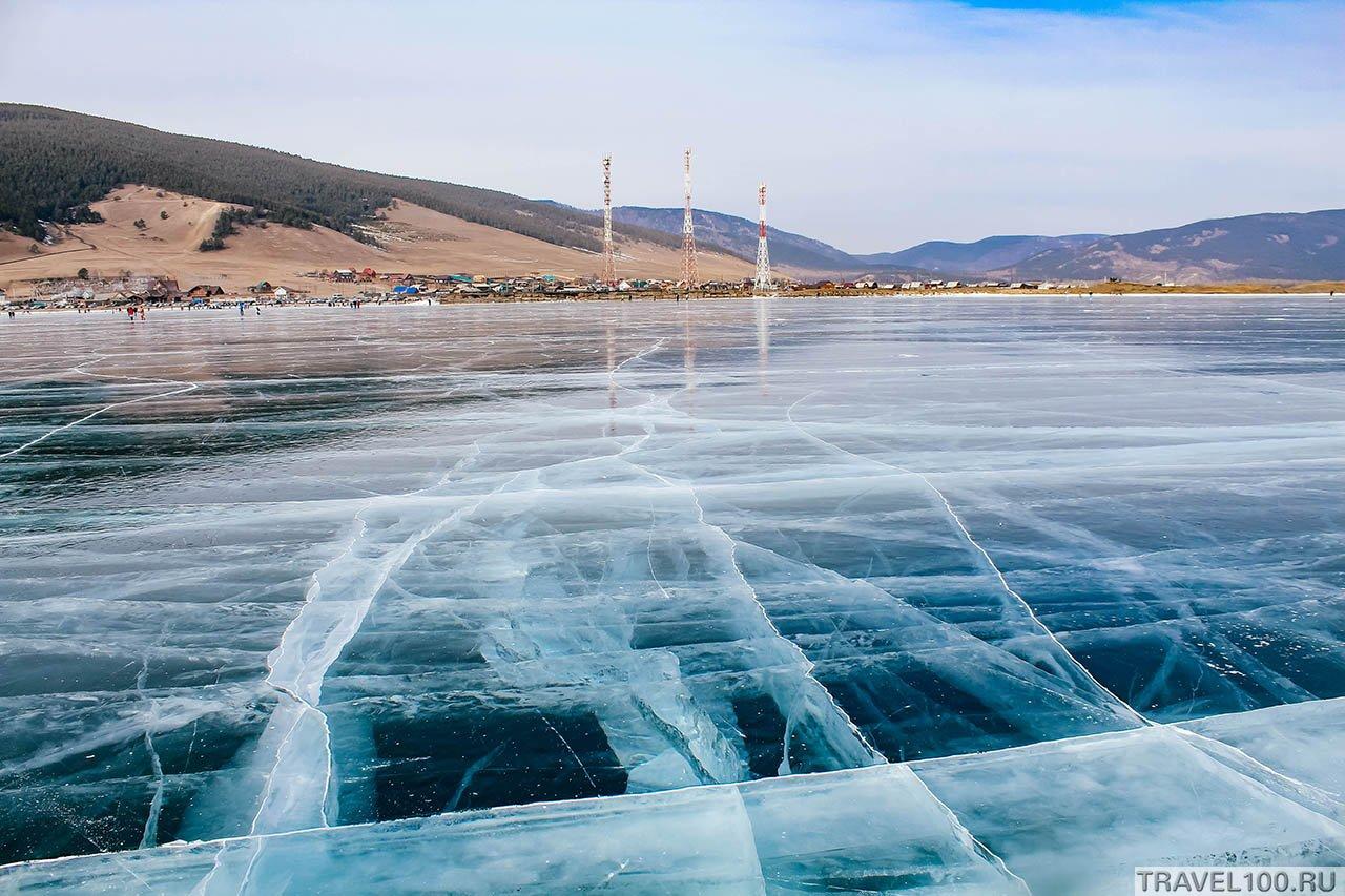 фото Большое Голоустное зимой