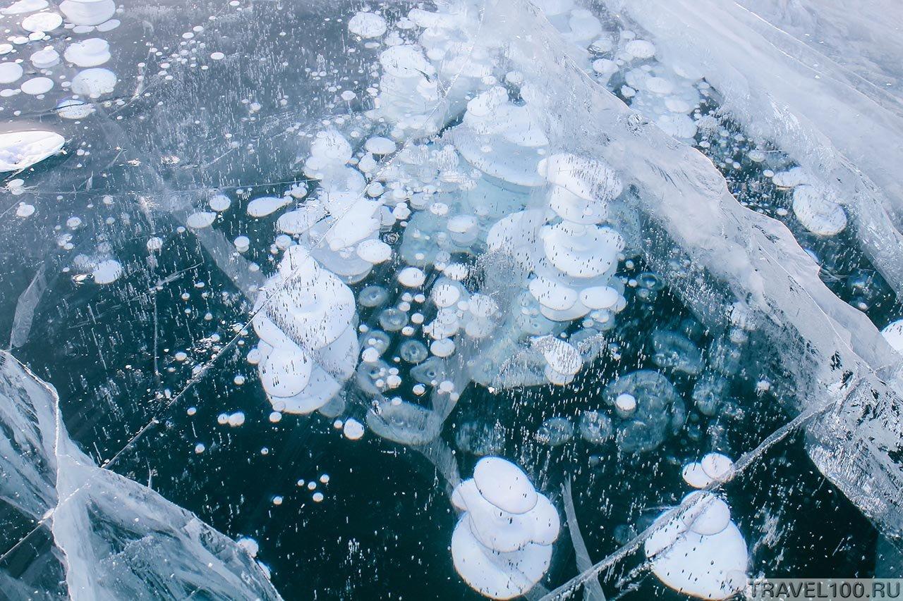 Фотографии Байкальского льда