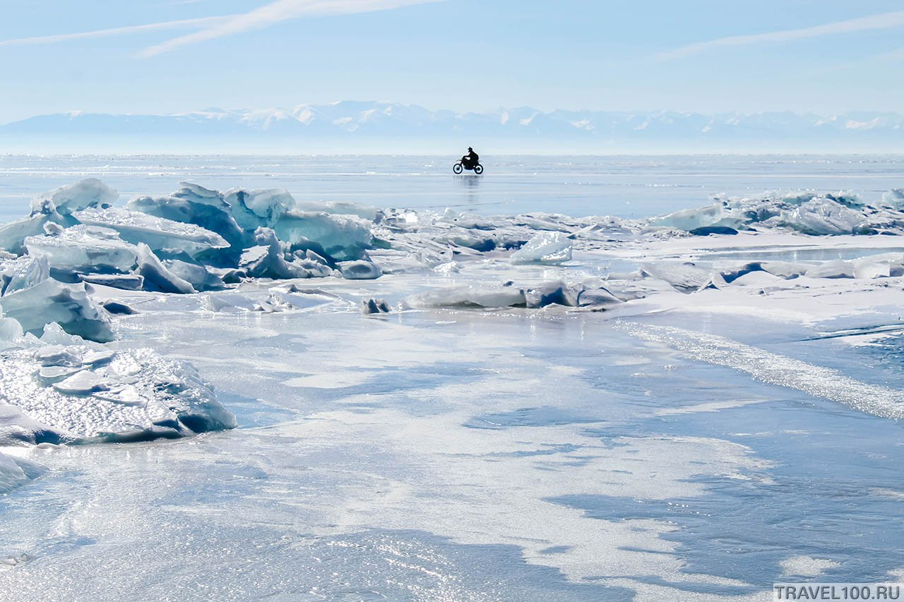 Фото Байкал зимой