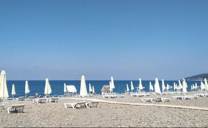 Пляжи Мамайки
