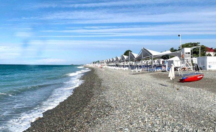 бархатные сезоны- пляж в сочи