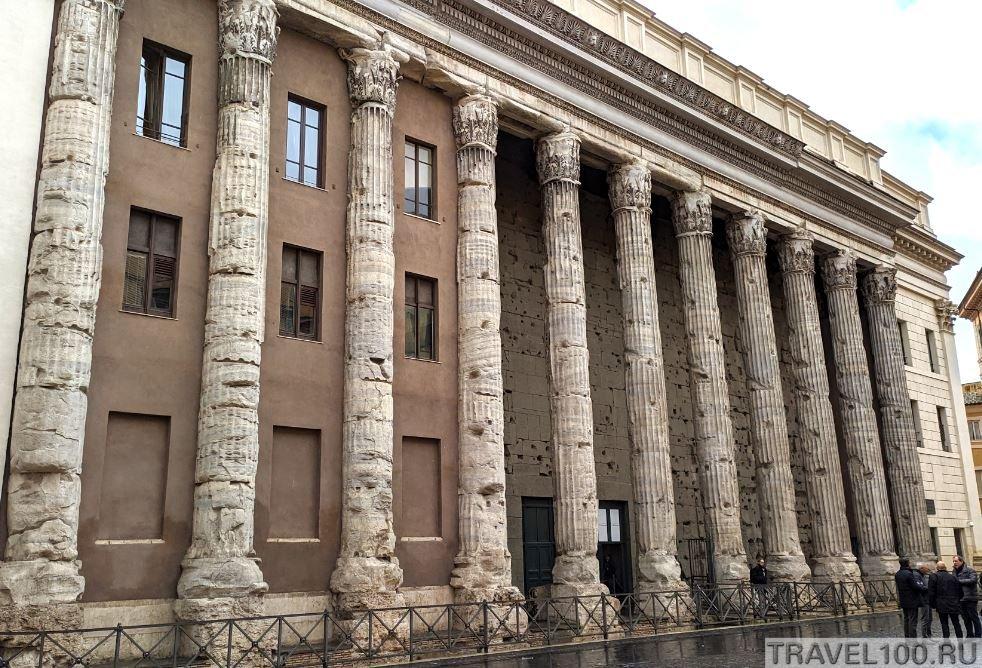 interesnye mesta rima hram adriana