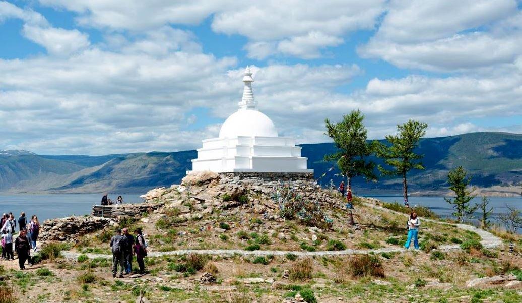ogoi buddiiskaya stupa