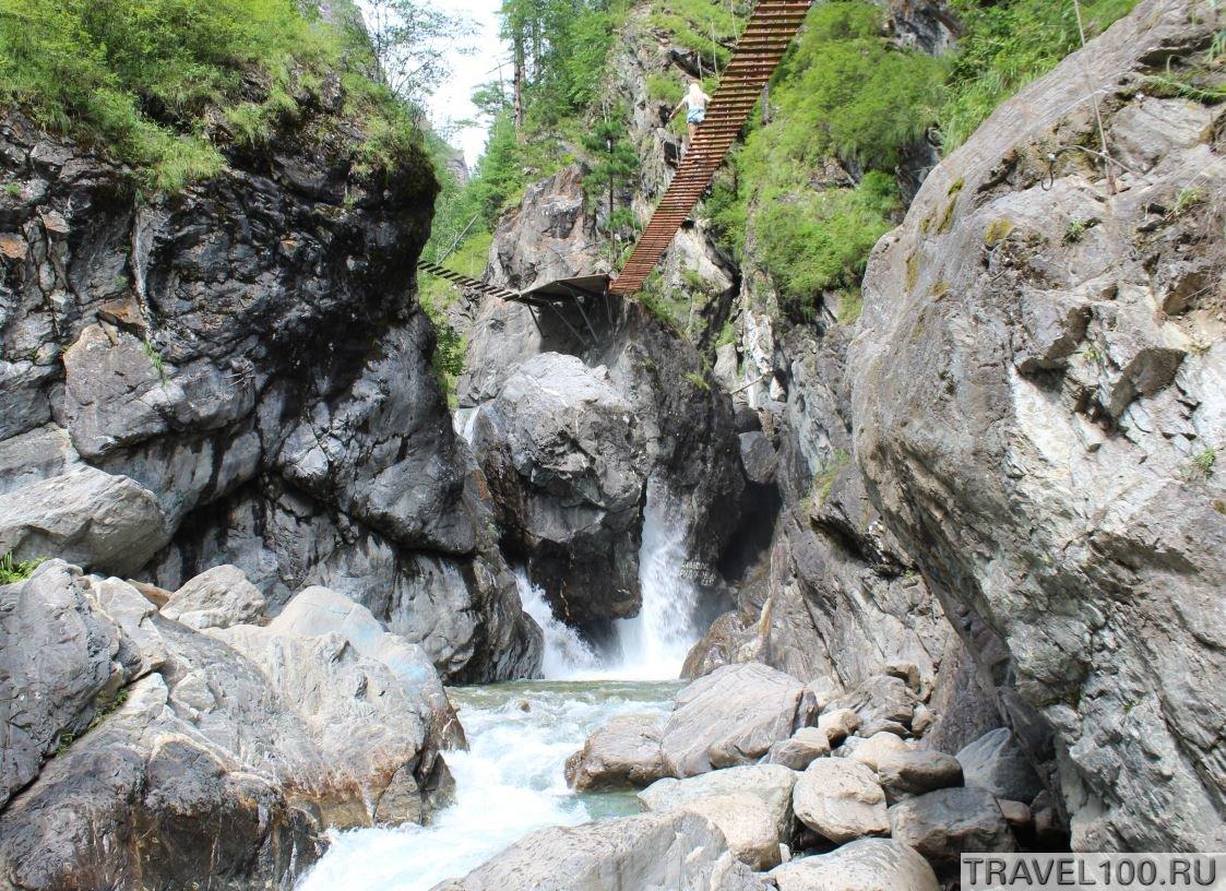 vodopad na arshane