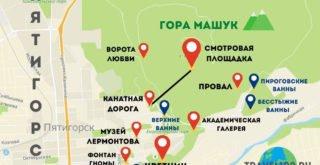karta-dostoprimechatelnostej-pyatigorska